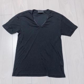 コムサコレクション(COMME ÇA COLLECTION)のCOMME CA COLLECTION  Vネックシャツ(Tシャツ(半袖/袖なし))