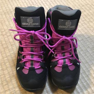 セダークレスト(CEDAR CREST)のトレッキングシューズ 登山靴 23センチ(登山用品)