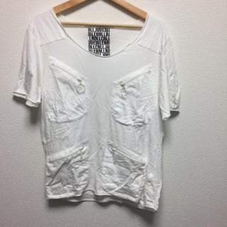 ジュヴェナイルホールロールコール(juvenile hall rollcall)のJUVENILE HALL ROLL CALL ファスナーTシャツ(Tシャツ/カットソー(半袖/袖なし))
