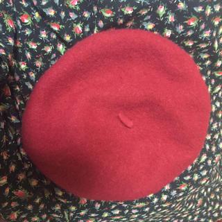 ロキエ(Lochie)のベレー帽 ボルドー ロキエ(ハンチング/ベレー帽)