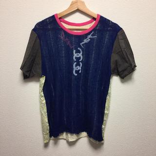 ノゾミイシグロ(NOZOMI ISHIGURO)のNOZOMI ISHIGURO ニットリメイクTシャツ(Tシャツ(半袖/袖なし))