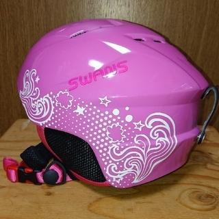 スワンズ(SWANS)のスキー スノーボード ヘルメット キッズ (ウエア/装備)