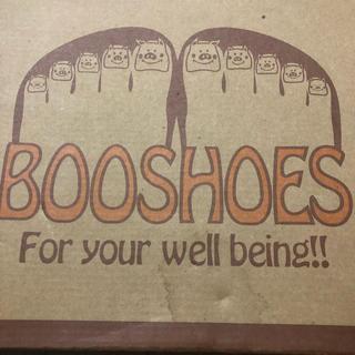 ブーフーウー(BOOFOOWOO)の新品同様 BOOSHOES ブーホームズ キッズ スノートレッキング スパイク付(アウトドアシューズ)