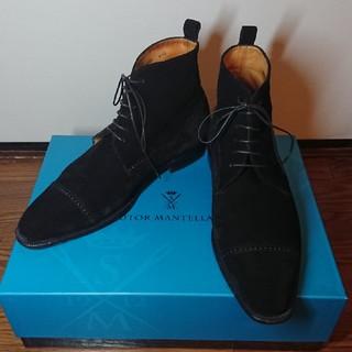 ストールマンテラッシ(SUTOR MANTELLASSI)の【美品】ストールマンテラッシ スエードブーツ サイズ41 1/2(ブーツ)
