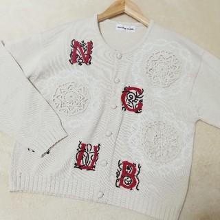 ニコルクラブ(NICOLE CLUB)のUSED NICOLE CLUB knit カーディガン(ニット/セーター)
