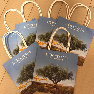 ロクシタン(L'OCCITANE)のL'OCCITANE 紙袋 6枚セット(ショップ袋)