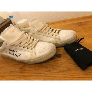 サンローラン(Saint Laurent)のサンローラン スニーカー 靴 サイズ40 25-26(スニーカー)