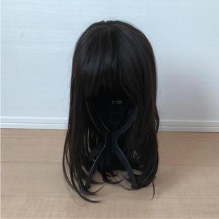 ナバーナウィッグ(NAVANA WIG)の新品未使用 ナバーナ ウィッグ セミロング ロング 自然 耐熱 医療用にも 黒髪(ロングストレート)