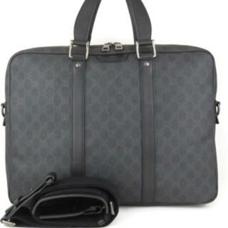 d3115c130da6 グッチ(Gucci)のグッチ GGスプリーム キャンパス ビジネス バッグ ブリーフケース 正規品(