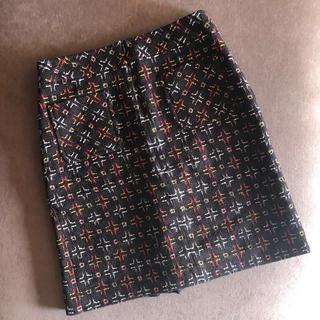 キャシャレル(cacharel)のキャシャレルツイードスカート美品¥3万☆プラダマルニトッカイザベルマランセリーヌ(ひざ丈スカート)