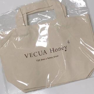 ベキュア(VECUA)の【非売品!未使用未開封!】ベキュアハニー ノベルティ エコバッグ トートバック(エコバッグ)