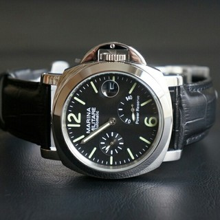 アエロナウティカミリターレ(AERONAUTICA MILITARE)のMARINA MILITARE 自動巻44mm ブラック(腕時計(アナログ))
