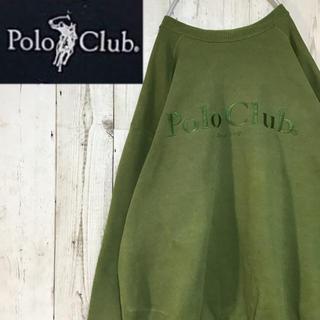 ポロクラブ(Polo Club)の【ポロクラブ】【ロゴ刺繍】【ビッグロゴ】【日本製】【希少カラー】【スウェット】(スウェット)