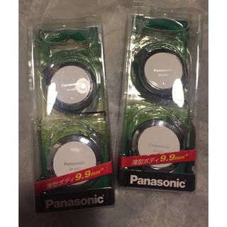 パナソニック(Panasonic)の【新品未使用】ステレオヘッドホン 耳掛けタイプ 2組セット(ヘッドフォン/イヤフォン)