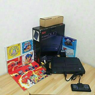 エヌイーシー(NEC)のPCエンジンDuo(中古)(家庭用ゲーム機本体)