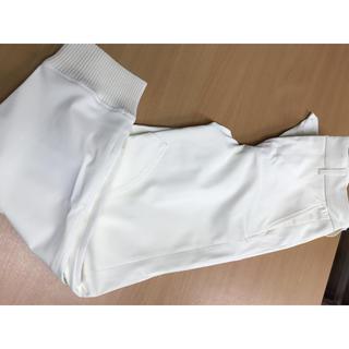 ダブルスタンダードクロージング(DOUBLE STANDARD CLOTHING)のD/him ホワイトパンツ(ワークパンツ/カーゴパンツ)