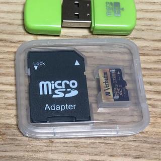 新品未使用 マイクロ SDカード 128MBマイクロsd microsd(PC周辺機器)