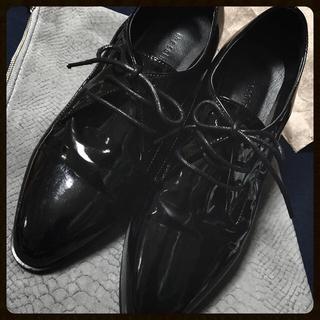 ディーホリック(dholic)のブラック オックスフォードシューズ☻(ローファー/革靴)
