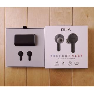 美品 RHA TrueConnect 完全ワイヤレスイヤホン(ヘッドフォン/イヤフォン)