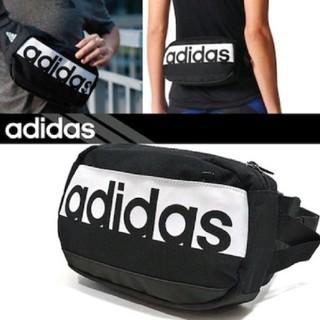 アディダス(adidas)のadidas ウエストバッグ ブラック(ボディバッグ/ウエストポーチ)