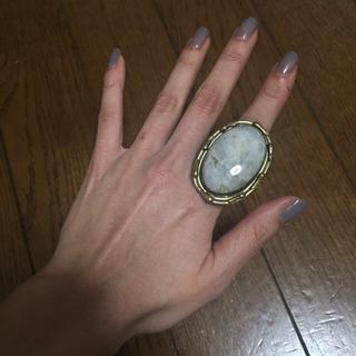 ルシェルブルー(LE CIEL BLEU)のLE CIEL BLEU 天然石リング(リング(指輪))