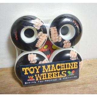 トイマシーン(Toy Machine)の新品格安♪TOY MACHINE スケボー ウィール トイマシーン(スケートボード)