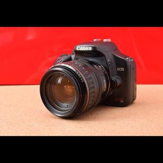 キヤノン(Canon)のCanon EOS Kiss X2 レンズ!Wi-Fi機能SD&バック12-22(デジタル一眼)