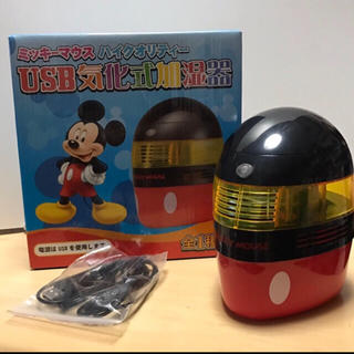 ディズニー(Disney)のミッキーマウス ハイクオリティー USB気化式加湿器 ディズニー (加湿器/除湿機)