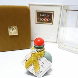 ジャンパトゥ(JEAN PATOU)の未使用 ジャンパトゥ 1000 パルファム 7ml 送料無料(香水(女性用))
