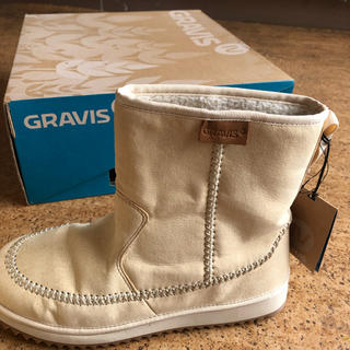 グラビス(gravis)のGRAVIS ウィンターブーツ 新品 未使用(ブーツ)