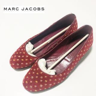 マークジェイコブス(MARC JACOBS)の【MARC JACOBS】リトルフラワー柄 フラットパンプス(ハイヒール/パンプス)
