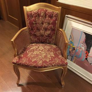 半世紀以上リアル英国アンティーク椅子💺(ハイバックチェア)