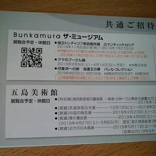 1枚 ロマンティック・ロシア展 招待券 Bunkamura ザ・ミュージアム(美術館/博物館)