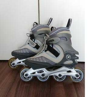 インライン スケート 23.5㎝ スケートブレード(ローラーシューズ)