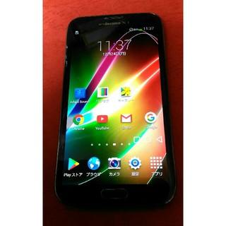 サムスン(SAMSUNG)のdocomo Galaxy Note2  SC-02E アンバーブラウン 美品(スマートフォン本体)
