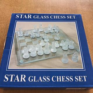 チェスセット ガラス(オセロ/チェス)