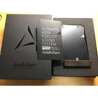 アイリバー(iriver)のAK380 AMP メテオリックチタン ケース付き(ポータブルプレーヤー)