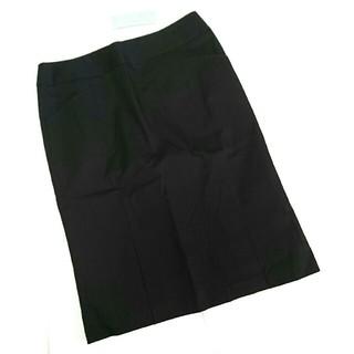 ノールシュド(NORD SUD)のノールシュド NORD SUD タイトスカート ブラック 黒 M 38 新品(ひざ丈スカート)
