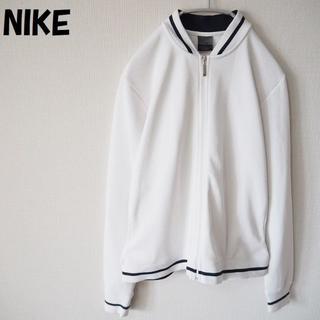 ナイキ(NIKE)の【人気】ナイキ 刺繍ワンポイントロゴジャージ ホワイト サイズM レディース(その他)