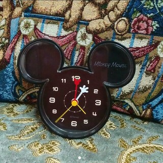 ディズニー(Disney)の値下げ☆Disneyディズニーミッキー置時計 目覚まし時計(置時計)