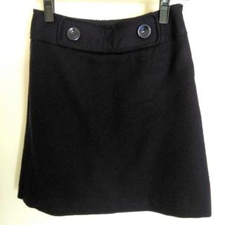 プーラフリーム(pour la frime)のpour la frime ミニスカート 紺色 S(ミニスカート)