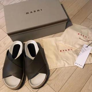 マルニ(Marni)のMARNI マルニ サンダル  シューズ(ローファー/革靴)