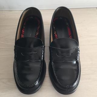 セダークレスト(CEDAR CREST)のCEDAR CREST ローファー 黒 レディース 24cm EEE(ローファー/革靴)