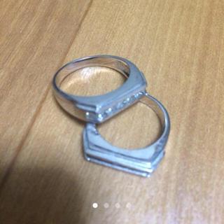 アヴァランチ(AVALANCHE)のavalanche / ホワイトゴールド(リング(指輪))