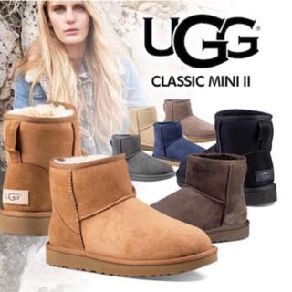 アグ(UGG)の新品未使用UGGアグ ムートンブーツクラシックミニII(ブーツ)