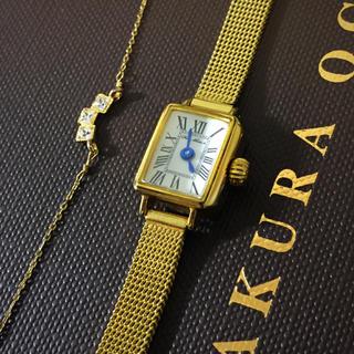 アガット(agete)のHIROB ジュエリーウオッチ アンティーク(腕時計)