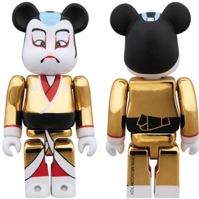 MEDICOM TOY(メディコムトイ)のベアブリック BE@RBRICK 歌舞伎 金メッキ 100% スカイツリー エンタメ/ホビーのおもちゃ/ぬいぐるみ(キャラクターグッズ)の商品写真