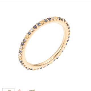 ポンテヴェキオ(PonteVecchio)の明日まぼくがず様専用 ポンテヴェキオ  カリーナリング ダイヤサファイア(リング(指輪))