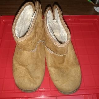 ムジルシリョウヒン(MUJI (無印良品))の無印 ブーツ 16-17cm 美品(ブーツ)