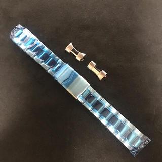 チュティマ(Tutima)の【未使用】tutima  グラスヒュッテ用 SSブレス  20mm(腕時計(アナログ))